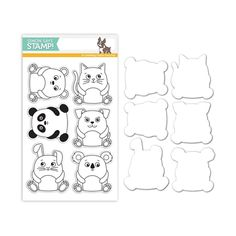Simon Says Stamps and Dies CUDDLY CRITTERS Set254CC My Favorite Preview Image