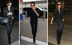 Where to Buy Victoria Beckham's Versatile Travel Shoes & the rest of her go-to airport style