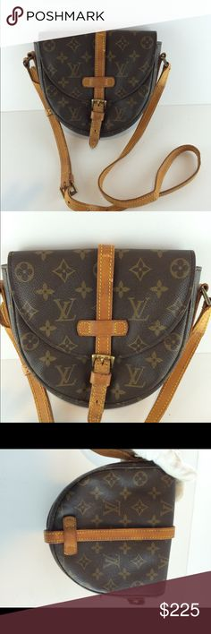 Authentic Louis Vuitton Chantilly crossbody Vintage .shows wear.100% authentic Louis Vuitton Bags Crossbody Bags