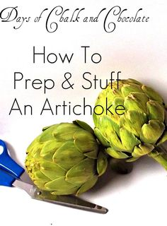 How to prep & stuff an artichoke