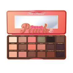 La toute nouvelle palette Sweet Peach de Too Faced www.elliarose.com