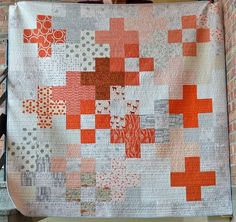 Let me tell you about this quilt - I named her Pow. Pow - I hope that this quilt is full of courage and strength and happiness and love. A...