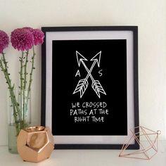 Paths Crossed Custom Print - My Sweet Prints
