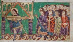 Salterio di Stoccarda IXsecolo folio 125r