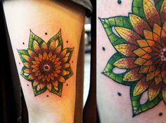 mandala sunflower - Google Search