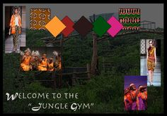 Welcome to the Jungle Gym mood board