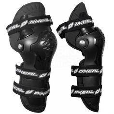 2016 ONeal Pumpgun Pivot MX Knee Guard - Black