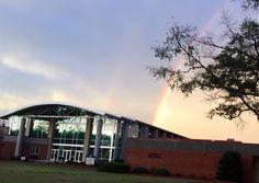 Rainbow over PE Bldg at EGSC