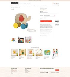 Shopify custom website design by Aeolidia