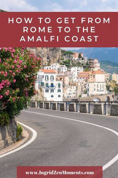 How to get from Rome to the Amalfi Coast - a complete guide! Choose the best way to get around Italy and see the Amalfi Coast during your Italy vacation. Rome Holidays, Driving In Italy, Rome Vacation, Rome Attractions, Rome Itinerary, Day Trips From Rome, Italy Destinations, Visit Italy