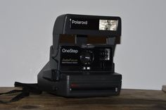 Polaroid One Step Auto Focus Digital Exposure System 1980s Made In UK Instant Land Camera Lomography Analog Retro Photography Photo Tested  http://www.rarevintagecollectibles.com