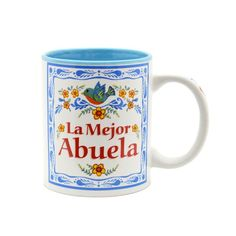 """""""La Mejor Abuela"""" Coffee Cup """"La Mejor Abuela"""" is """"Grandma is the Greatest"""" in Spanish Ceramic Mug Dishwasher Safe """"La Mejor Abuela"""" Coffee Cup """"La Mejor Abuela"""" is """"Grandma is the Greatest"""" in Spanish Ceramic Mug Dishwasher Safe - #ceramic #mug #coffee #cup #kitchenware #ceramic #gift #ideas #saying """"abuela #mexican #spanish #grandmother #cute #funny"""
