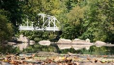 Green Lane Park, PA - Bridge (closed), Waterfalls, Rocks, Boat Rentals, Open Fields, Pavilion, Playground, Benches, Wooded Pathways