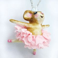 Spun Cotton Ballerina Princess Mouse