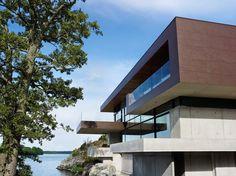 Skallan.Stunning villa with 500m² Dekton Kadum ventilated façade.
