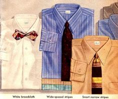 """Vintage Mens Dress Shirts (1944) ... 