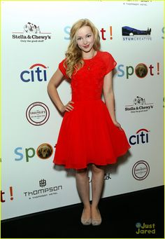 Dove Cameron: Saving Spot!