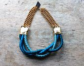 Anawa Rope Necklace /// Autumn Colors. $79.00, via Etsy.