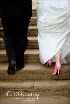 Want a picture like this with my purple shoes! Pink Wedding Shoes, Wedding Heels, Wedding Colors, Wedding Shot, Our Wedding, Dream Wedding, Friend Wedding, Wedding Stuff, Wedding Photography Inspiration