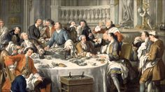 Jean-François de Troy The Oyster Lunch Troy, Versailles, Carnival Masks, Bacchus, Design Agency, Rococo, Les Oeuvres, 18th Century, Storytelling