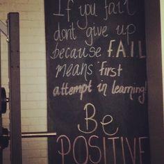 Motivation courtesy of @snapmaryborough both for #fitness & #business
