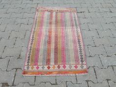 Vintage Bohemian, Vintage Rugs, Bohemian Rug, Kilim Pillows, Kilim Rugs, Nursery Rugs, Custom Rugs, Small Rugs, Grey Fabric