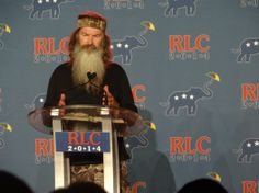 Audio of Phil Robertson speaking at the GOP Leadership Conference 2014