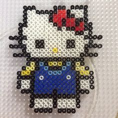 Hello Kitty perler beads by imbpixel