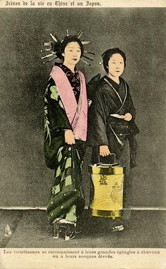 Oiran and Shinzo 1900 by Blue Ruin1
