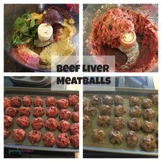 Purely Twins Beef Liver Meatballs!