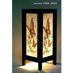 Oriental zen bedside table lamp / home garden by TDstudio2012, $14.90
