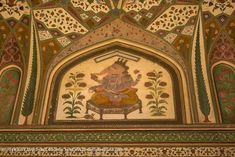 Amer Fort 014: Elegantly crafted masterpiece an excellent art. Amer Fort, Rajasthan India, Photography, Painting, Design, Art, Art Background, Goa India, Photograph