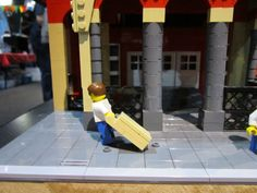 London's St Pancras station in Lego (2) Maker Faire 2014, Centre For Life, Newcastle #makerfaireuk