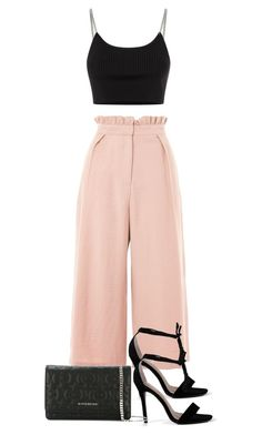 """Untitled #5226"" by theeuropeancloset ❤ liked on Polyvore featuring Topshop, Alexander Wang and Givenchy"