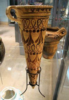 Bronze Age Etruscan vases from Crete C.1600BC  Ashmolean Museum, Oxford