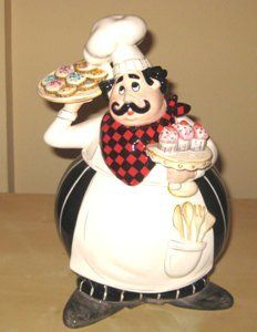 Chef Cookie Jar