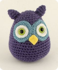 Amigurumi owl so cute!