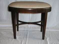 Antique Upholstered  Bench  Vanity Bench or Piano by QuarterCreek, $145.00