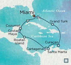Haute Caribbean Holidays on Crystal Serenity {round trip Miami}