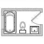 Beautiful 5x7 Bathroom Layout | bathroom | Pinterest | 5x7 ...