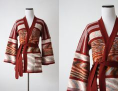 vintage 1970's wrap sweater by 1919vintage on Etsy, $65.00