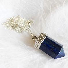 Nyx - Long Stone Necklace – Druzy Dreams