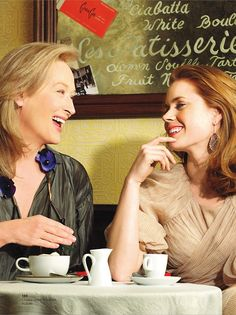 Amy Adams and Merly Streep