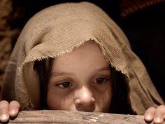 Free Bible images of the Christmas story: Angels announce the birth of Jesus to shepherds outside Bethlehem (Luke 2:8-21): Slide 13