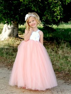 Tulle Flower Girl Dress. Great second hand options
