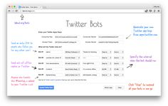 Learn how you can create your own Twitter bots without writing a single line of code. The bots can favorite, retweet, reply tweets or even send DMs to users.