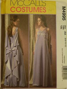 Padme Amidala Evening Gown Star Wars Costume by patterntreasury