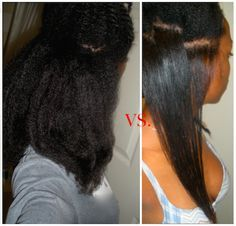 """This looks amazing!!!! wish i knew this when I was natural. I never got my hair this straight. """"How I Flat Iron My Thick, 4C Natural Hair SLEEK and Straight without DAMAGE"""""""