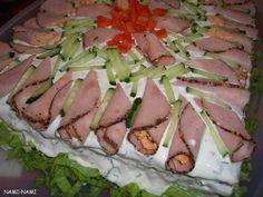 Võileivatort - Sandwich Cake