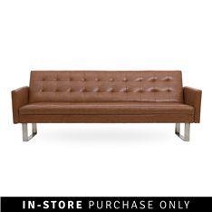 alisa 3 seater sofa bed